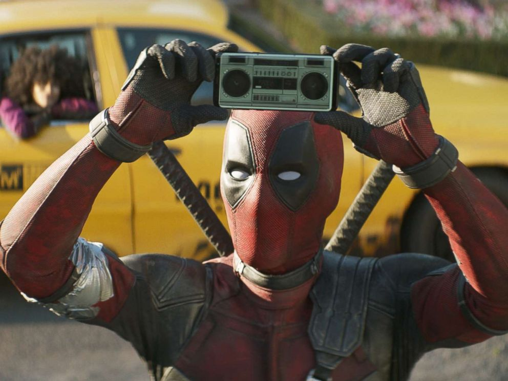 PHOTO: Ryan Reynolds in a scene from Deadpool 2.