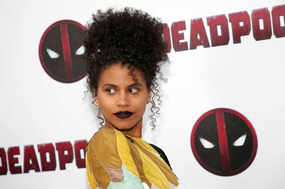 PHOTO: Actress Zazie Beetz attends a special screening of Deadpool 2 at AMC Loews Lincoln Square, May 14, 2018, in New York.