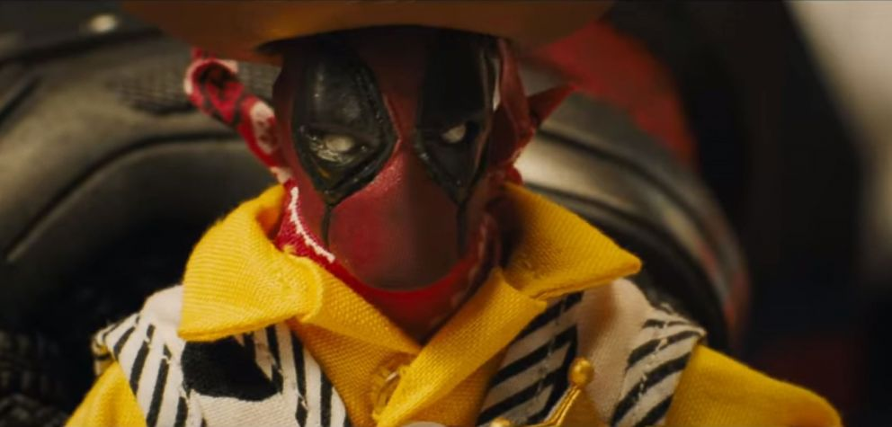 """PHOTO: A scene from the upcoming """"Deadpool"""" sequel."""