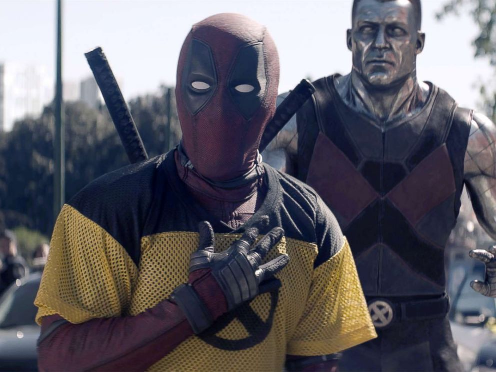 PHOTO: Ryan Reynolds and Colossus in Twentieth Century Foxs DEADPOOL 2.