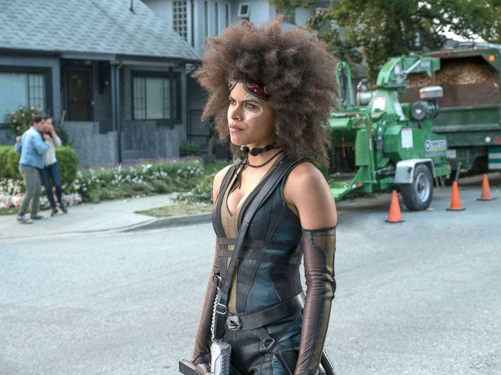 PHOTO: Zazie Beetz as Domino in Twentieth Century Foxs DEADPOOL 2.