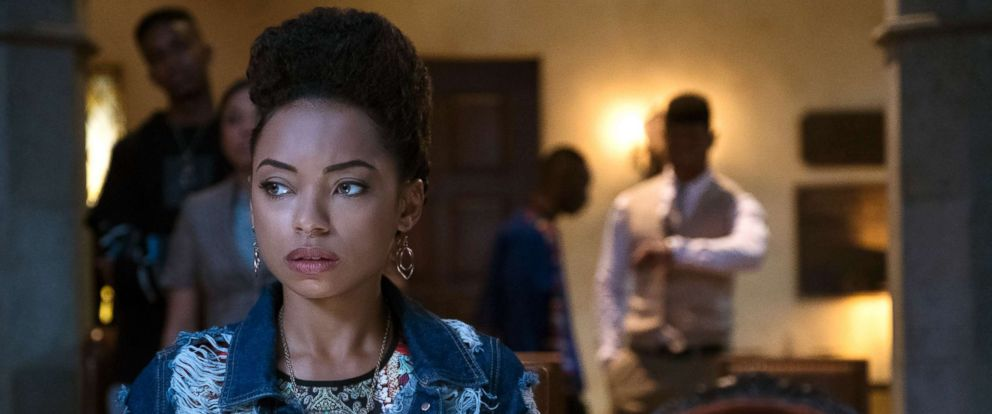 "PHOTO: Scene from the show, ""Dear White People."""