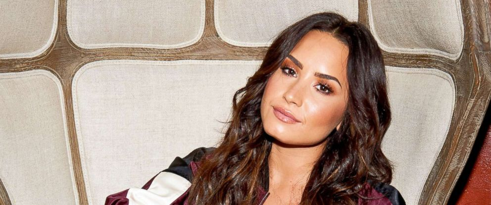 PHOTO: Demi Lovato poses during rehearsals for the 2017 MTV Video Music Awards at Avalon Hollywood on Aug. 23, 2017 in Hollywood, Calif.