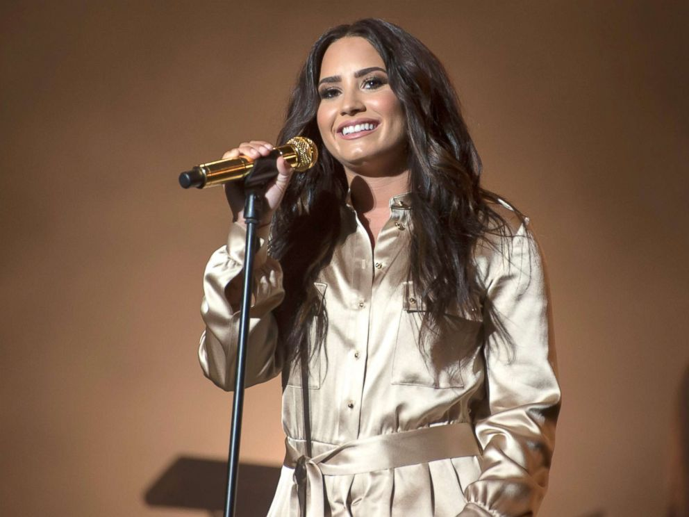 PHOTO: Singer Demi Lovato performs during the 16th International Mawazine Music Festival at Olm Souissi stage in, Rabat, Morocco, May 20, 2017.