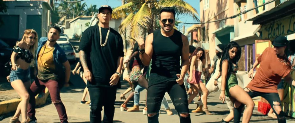 "PHOTO: Daddy Yankee and Luis Fonsi ""Despacito,"" 2017."