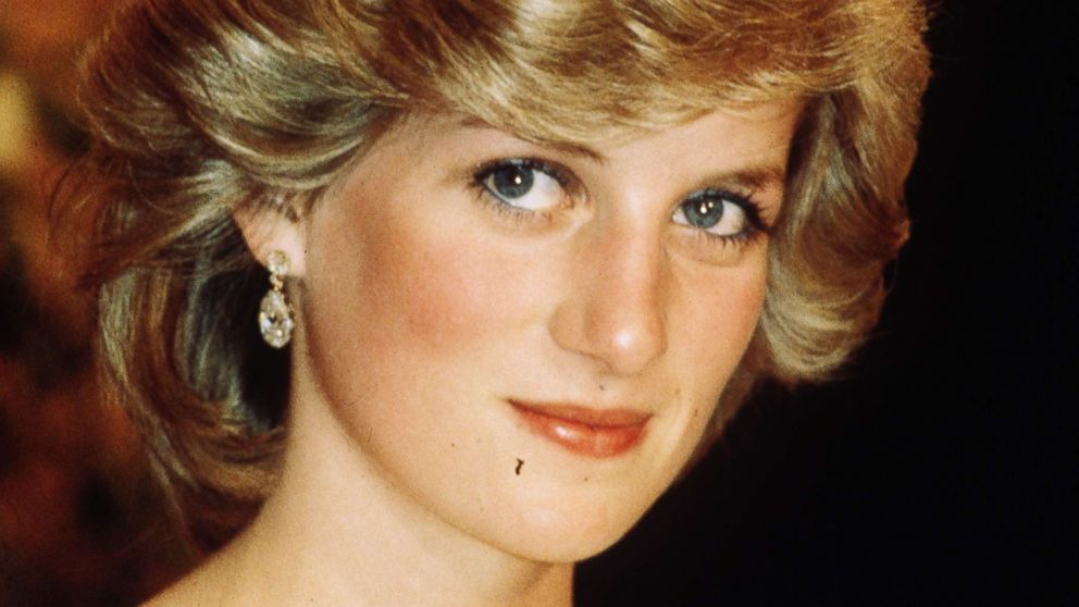 Princess Diana, Princess of Wales wearing The Cambridge Lover's Knot Tiara in New Zealand during April 1983.