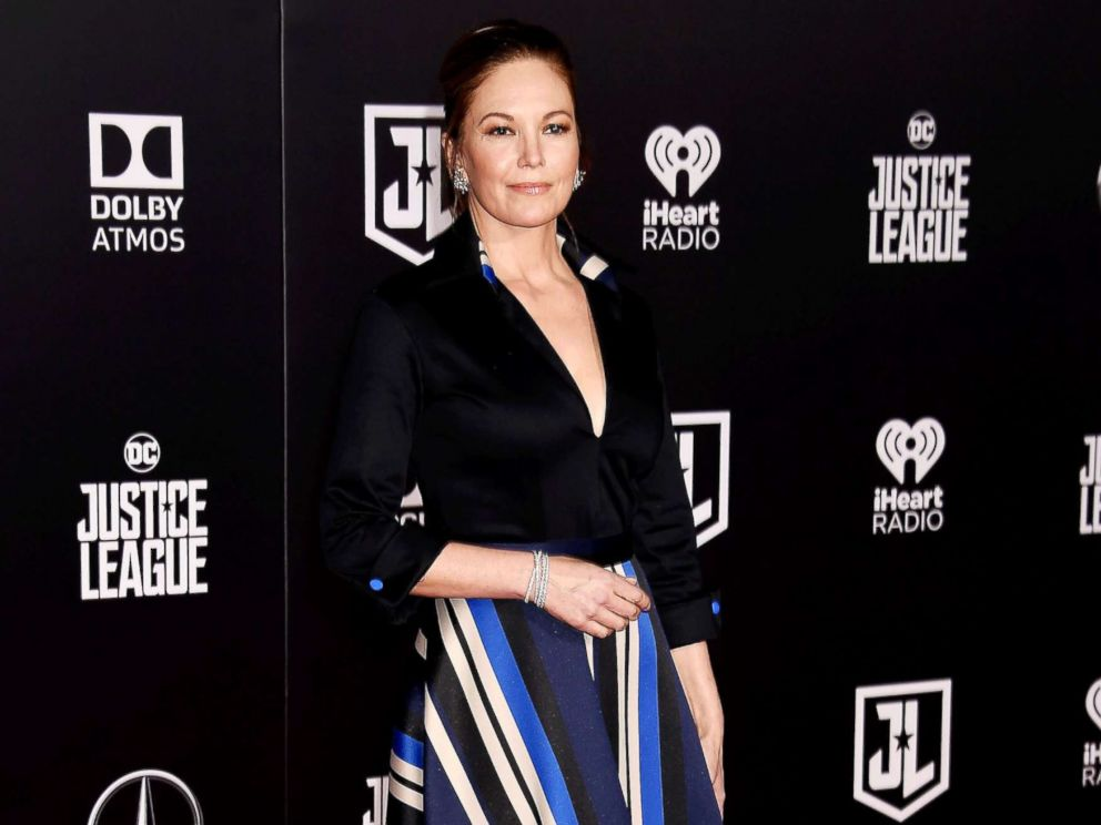 PHOTO: Actress Diane Lane arrives at the premiere of Warner Bros. Pictures Justice League at the Dolby Theatre, Nov. 13, 2017, in Hollywood, Calif.