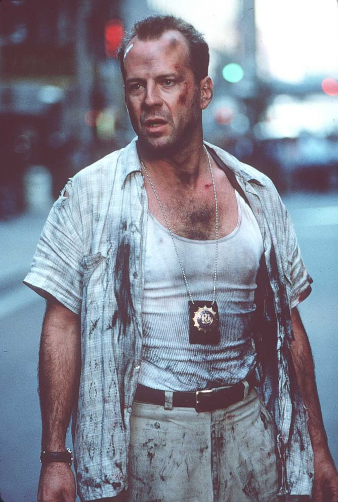 PHOTO: Bruce Willis stars in the new Die Hard Movie, Die Hard with a Vengeance, March 1995.