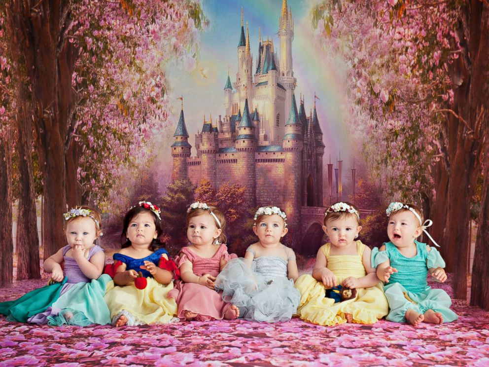 Baby Disney Princesses Reunite For Seriously Epic Cake Smash Abc News