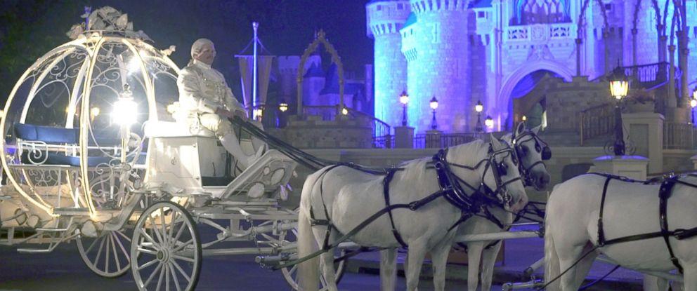 PHOTO: Cinderellas Royal Coach at Walt Disney World Resort in Orlando, Fla.