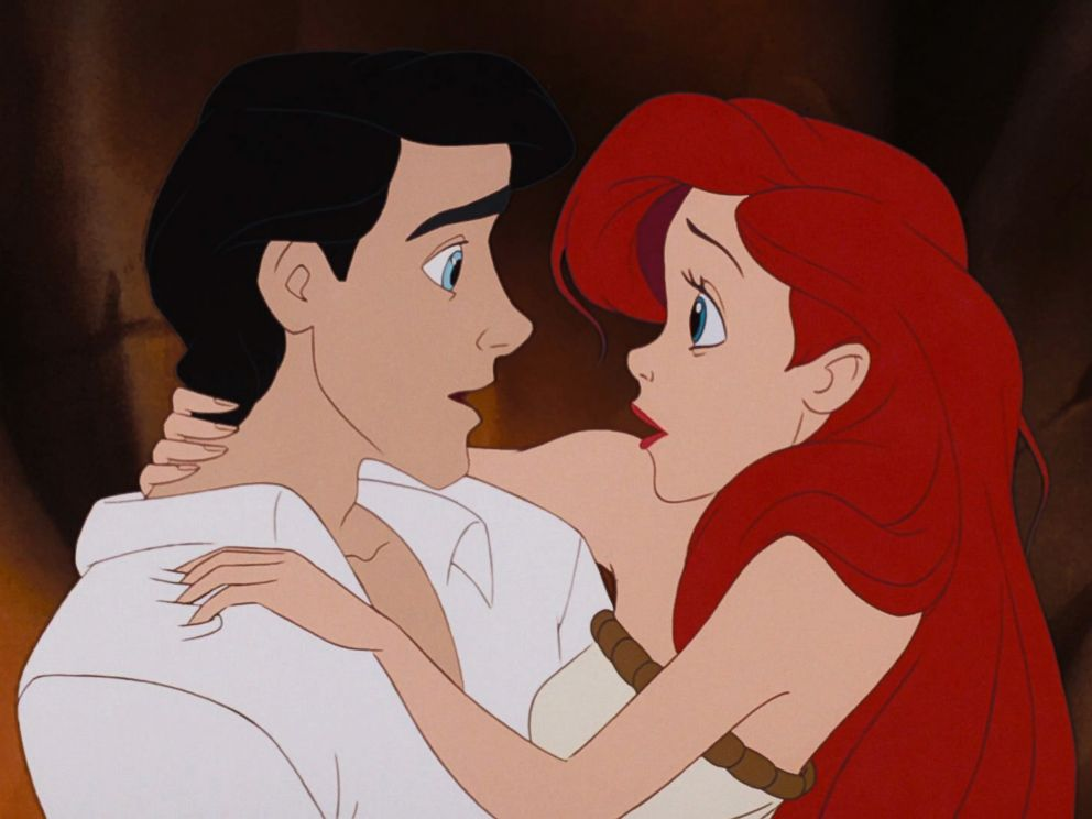 PHOTO: Prince Eric and Ariel from The Little Mermaid.