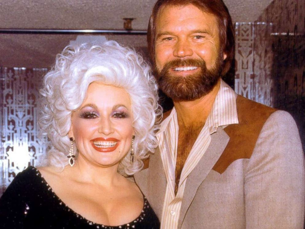 PHOTO: Dolly Parton and Glen Campbell are seen in this undated image posted to Dolly Partons website in memory of the late singer.