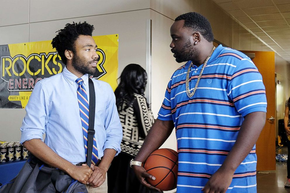 Brian Tyree Henry appear in a scene from Atlanta