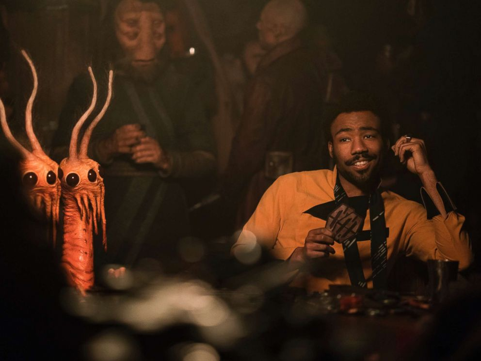 'Solo's' Donald Glover is cool with Lando being pansexual