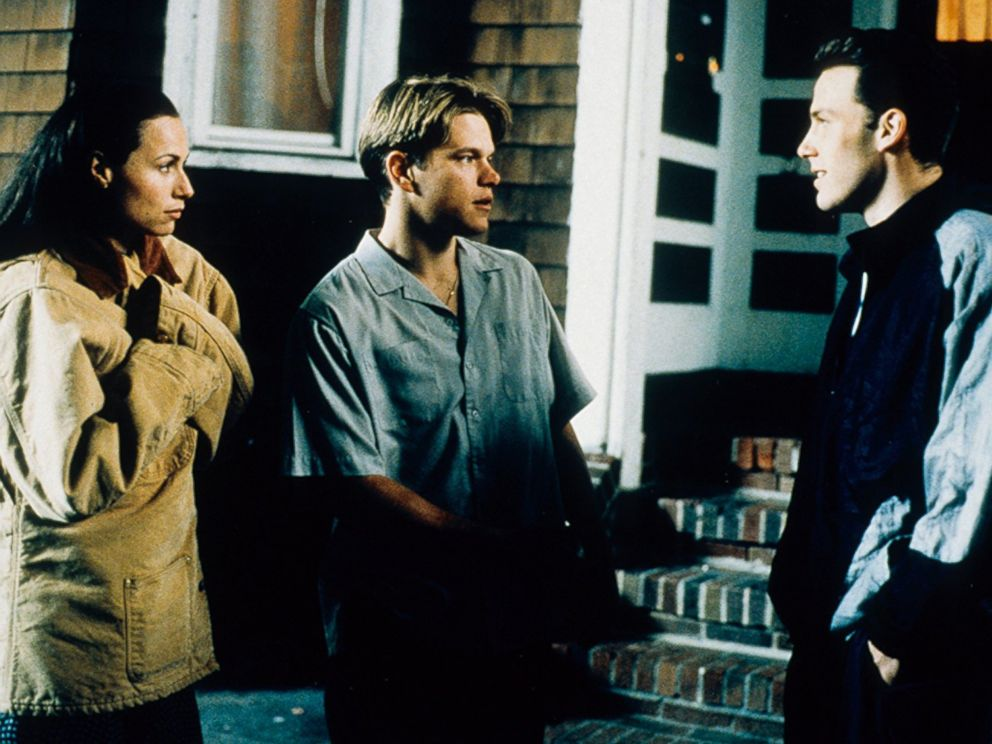 PHOTO: Minnie Driver, Matt Damon and Ben Affleck in Good Will Hunting, 1997.