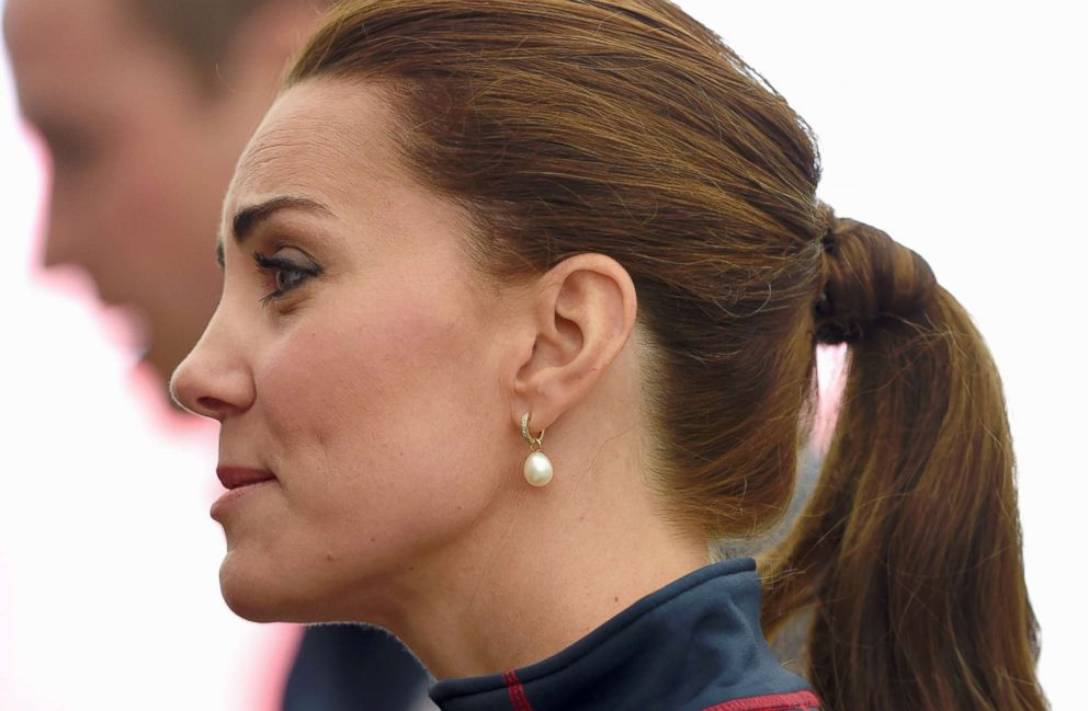 PHOTO: Catherine, Duchess of Cambridge, Royal Patron of the 1851 Trust attends the Americas Cup World Series, July 26, 2015, in Portsmouth, England.