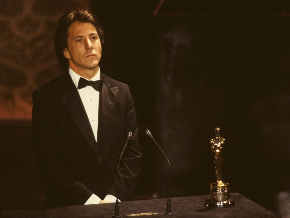 PHOTO: Dustin Hoffman receives Best Actor Oscar for his performance in Kramer vs. Kramer, at the 52nd Annual Academy Awards, April 14, 1980 in Los Angeles.
