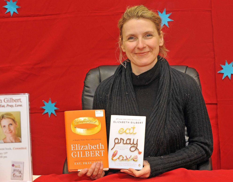PHOTO: Elizabeth Gilbert author of Eat, Pray, Love promotes her new book Committed at BJs Wholesale on Feb. 19, 2010 in Riverdale, New Jersey.