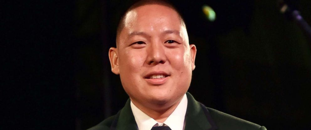 PHOTO: Eddie Huang speaks onstage at the Busboys and Poets Peace Ball: Voices of Hope and Resistance at National Museum Of African American History & Culture, Jan. 19, 2017 in Washington, DC.