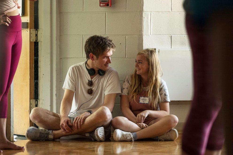 "Bo Burnham and Elsie Fisher in a scene from ""Eighth Grade."""