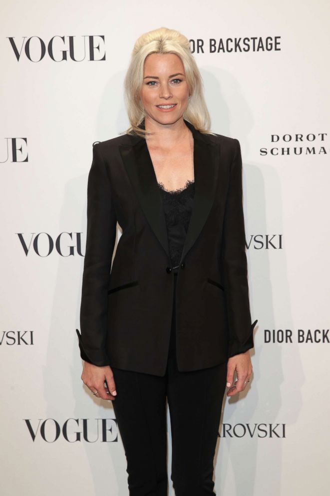 PHOTO: Elizabeth Banks attends the VOGUE Fashion Party at Kunstareal am Weissensee, July 6, 2018, in Berlin.