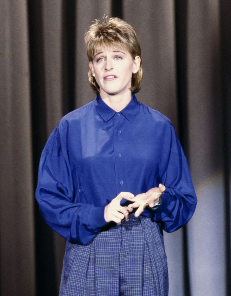 PHOTO: Ellen Degeneres appears on The Tonight Show Starring Johnny Carson, Feb. 11, 1987.