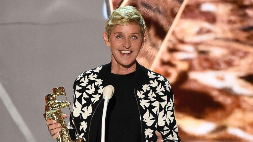 Ellen DeGeneres presents the MTV Michael Jackson Video Vanguard Award at the MTV Video Music Awards at The Forum, Aug. 27, 2017, in Inglewood, Calif.