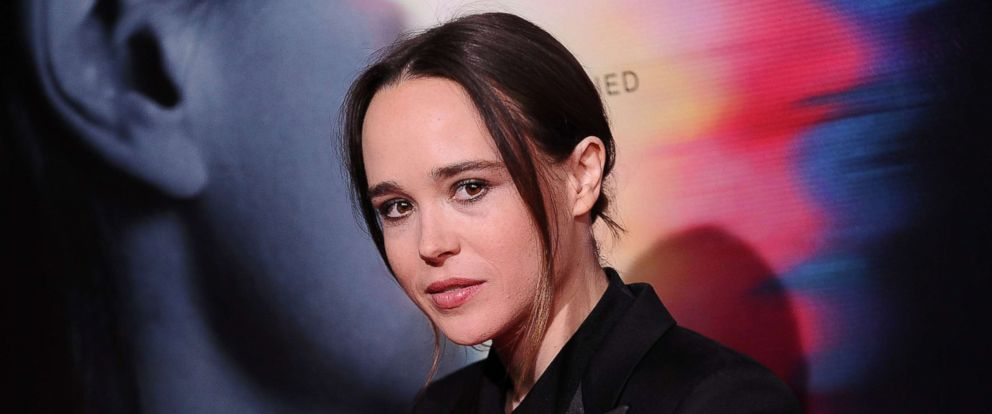 """PHOTO: Ellen Page attends the premiere of """"Flatliners"""" at The Theatre at Ace Hotel on September 27, 2017 in Los Angeles, Calif."""