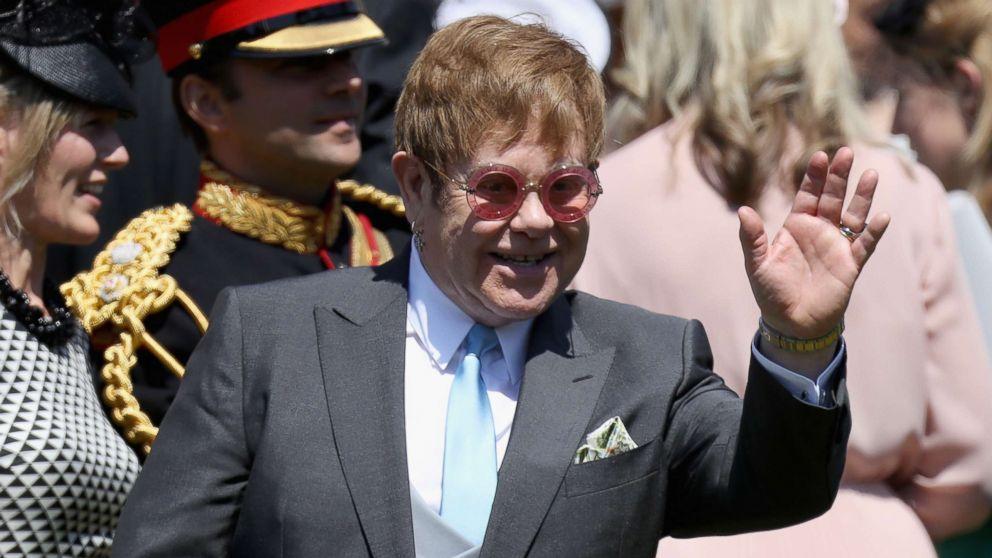 Royal Wedding 2018 Elton John Performs At The Reception Following