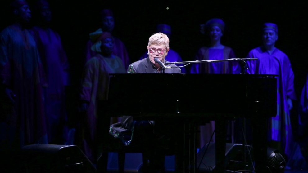 Elton John shocks Broadway 'Lion King' audience with 'Circle of Life