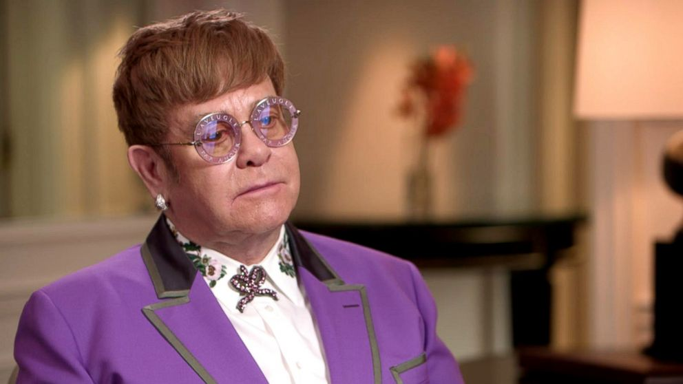 Sir Elton John discusses his announcement that he will retire from touring in an interview with ABC News' Robin Roberts.