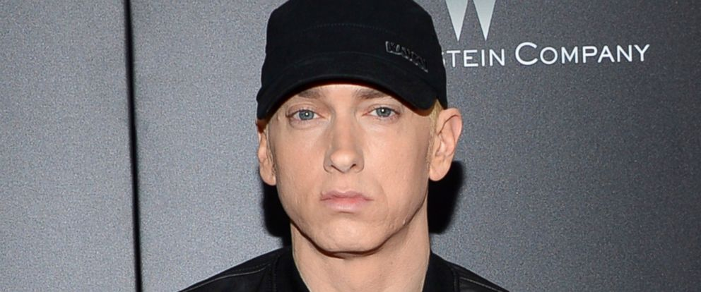 "PHOTO: Eminem attends the premiere of ""Southpaw"" in New York in this July 20, 2015 file photo."