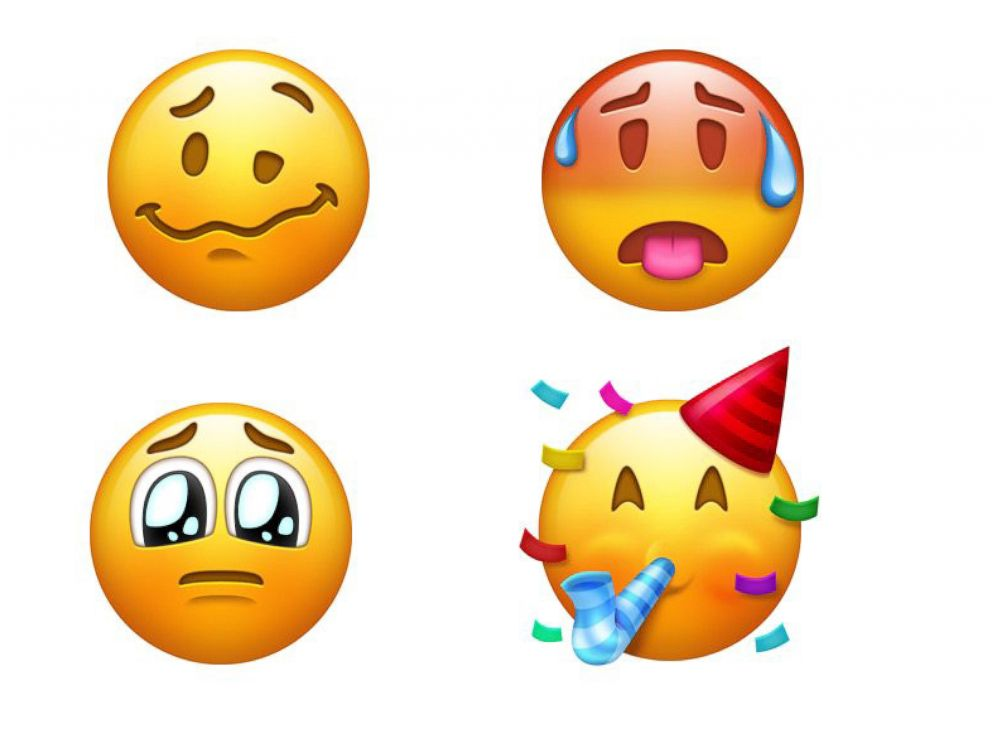 157 new emojis -- including peacock and hot face