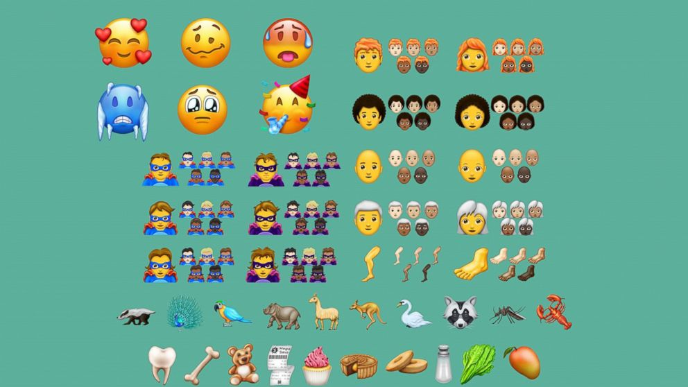 157 New Emojis Including Peacock And Hot Face Finalized For