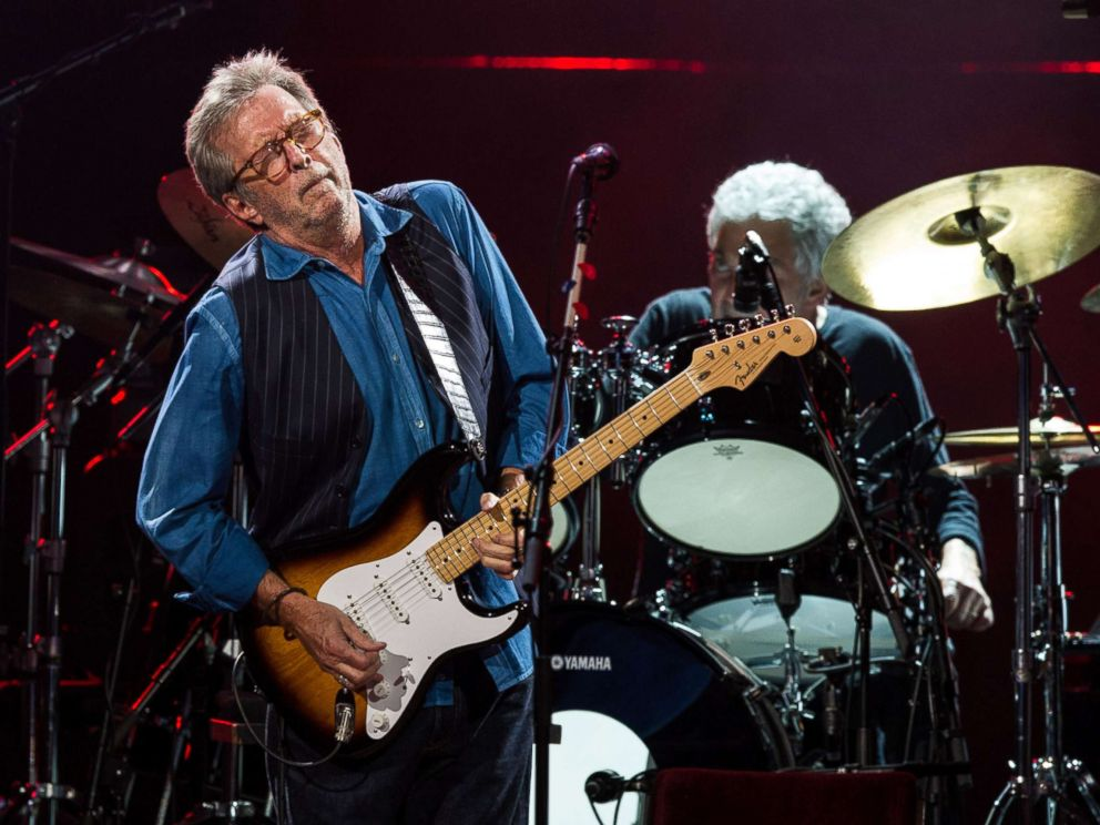 PHOTO: Eric Clapton performs live on stage at Royal Albert Hall, May 14, 2015, in London.