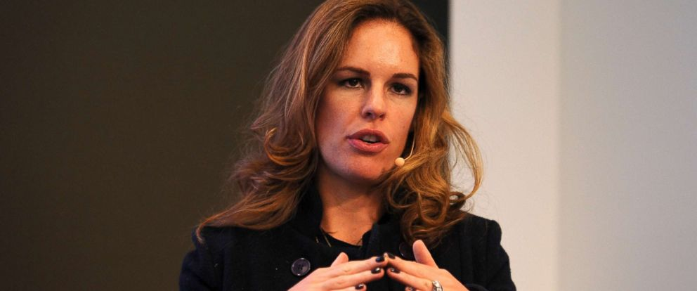 PHOTO: Erika Nardini speaks onstage at The New CMO panel during AWXI, Sept. 30, 2014, in New York City.