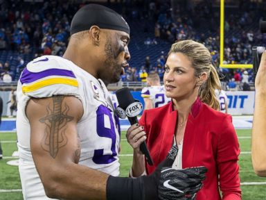 Erin Andrews spreads awareness about cervical cancer