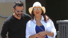 PHOTO: Jose Baston and Eva Longoria are seen, June 7, 2018, in Los Angeles.