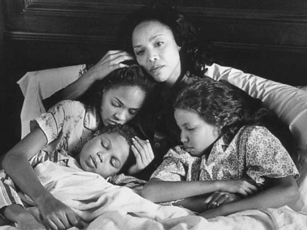 PHOTO: Lynn Whitfield, Meagan Good, Jake Smollett and Jurnee Smollett-Bell are seen here in Eves Bayou.