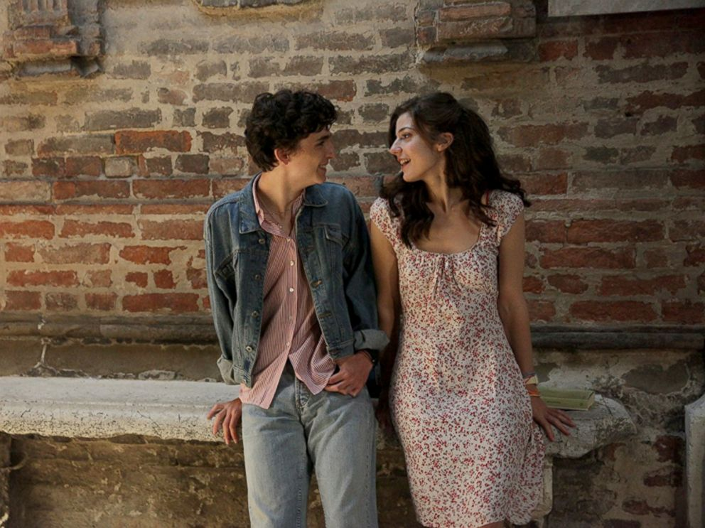 PHOTO: Timothee Chalamet and Amira Casar in a scene from Call Me by Your Name.