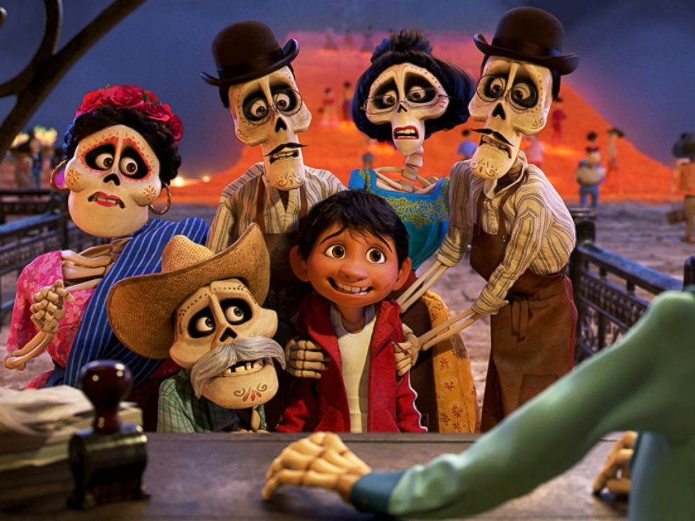 PHOTO: Scene from the animated film, Coco.
