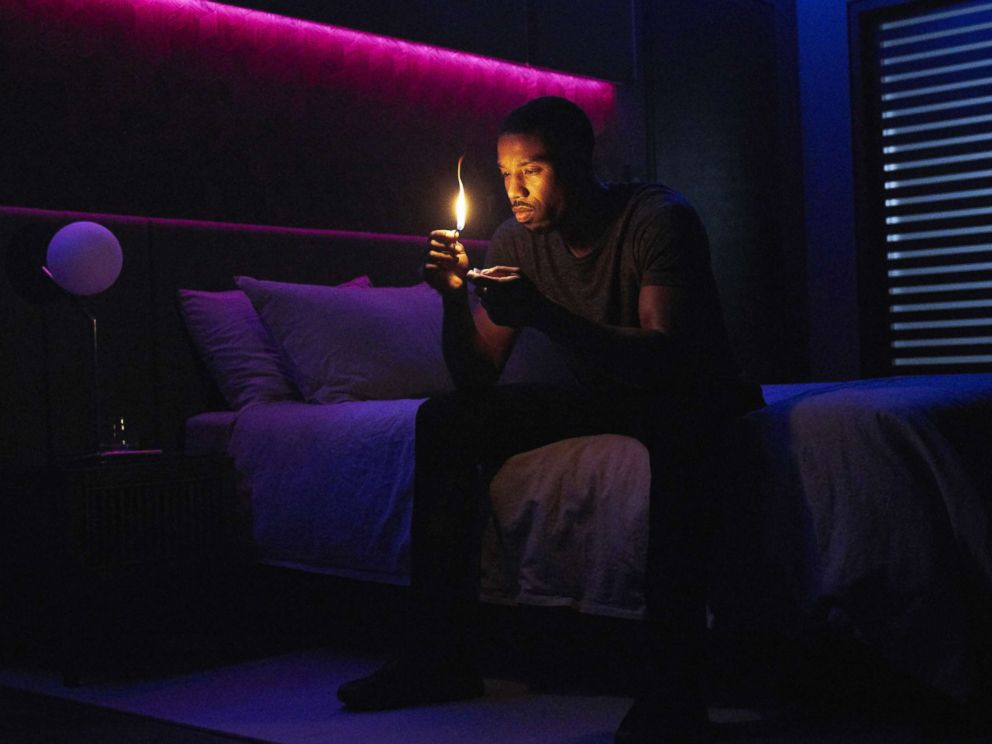 PHOTO: Michael B. Jordan in a scene from Fahrenheit 451.