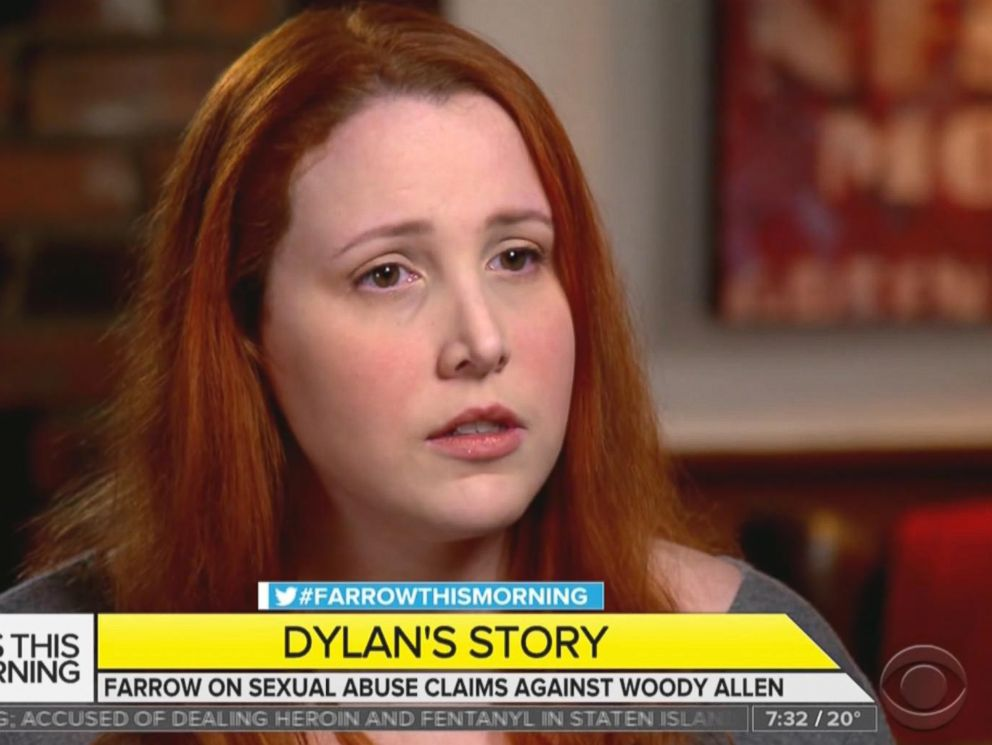 PHOTO: Dylan Farrow appears on CBS This Morning, Jan. 18, 2018.