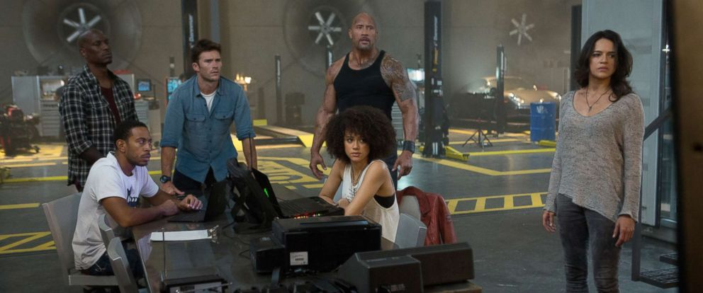 """PHOTO: Cast of """"The Fate of the Furious."""""""