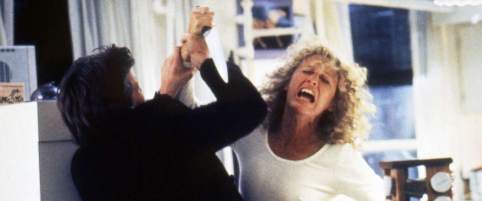 "PHOTO: Michael Douglas and Glenn Close star in the 1987 film, ""Fatal Attraction."""