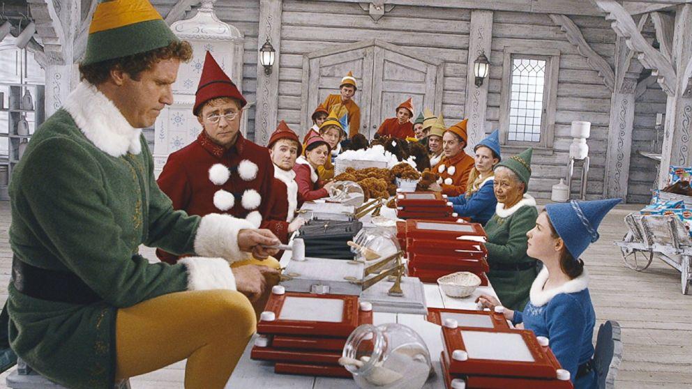 elf movie teams background