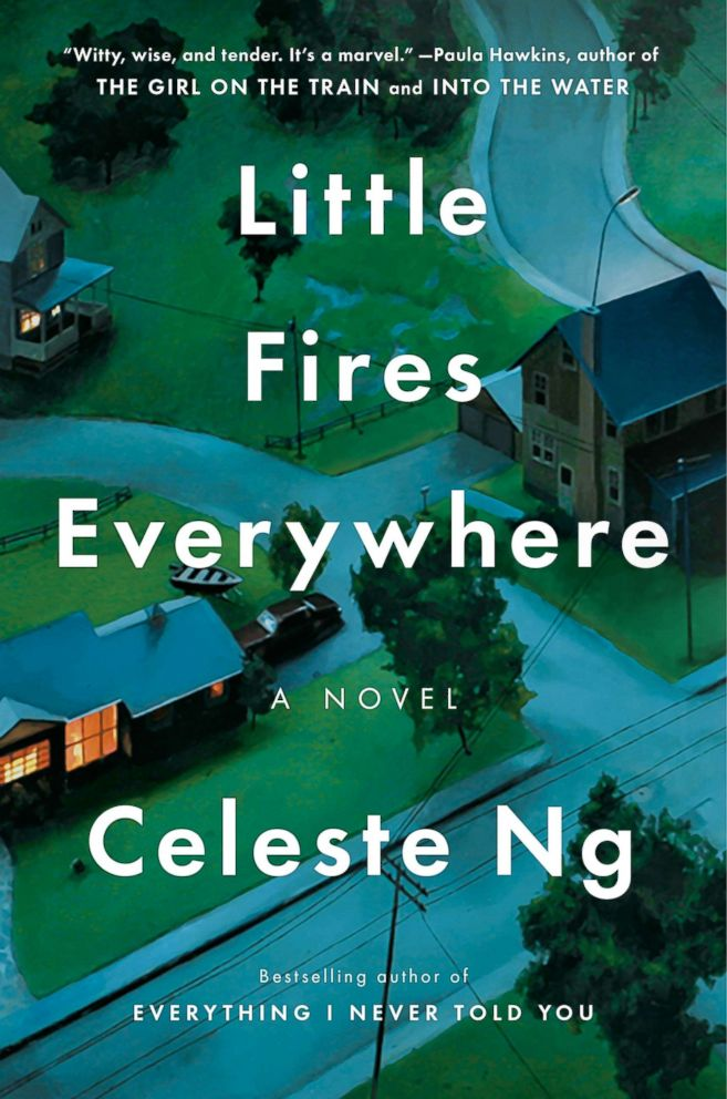 PHOTO: The cover for Little Fires Everywhere by Celeste Ng is pictured here.