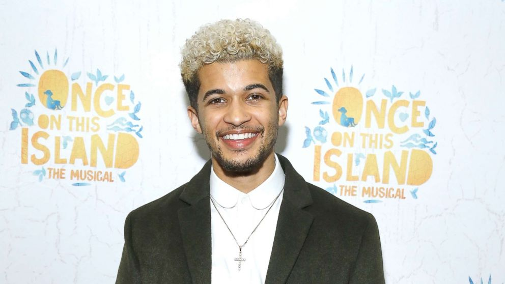 """Jordan Fisher attends """"Once On This Island"""" Broadway opening night at Circle in the Square Theatre, Dec. 3, 2017, in New York."""