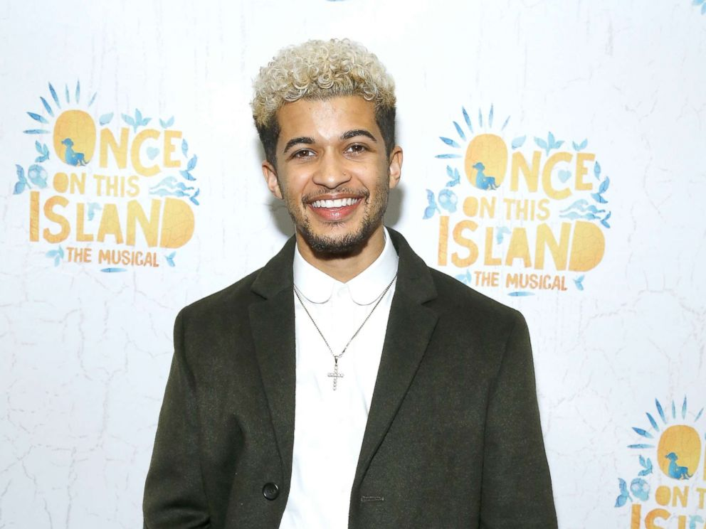 PHOTO: Jordan Fisher attends Once On This Island Broadway opening night at Circle in the Square Theatre, Dec. 3, 2017, in New York.