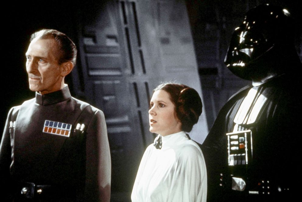 Watch Carrie Fisher's 'Star Wars' audition with Harrison Ford